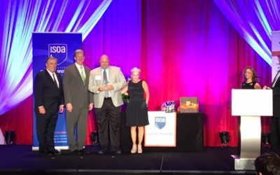 OBERA LLC WINS ISOA CORPORATE ACHIEVEMENT AWARD